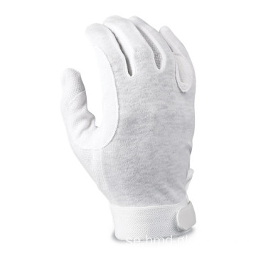 Cotton White Work Gloves Command Parade Driver