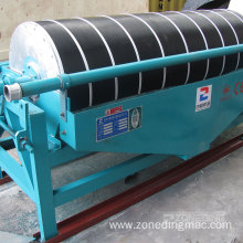 New Fashion Design for Drum Magnetic Separator 1.5kw Iron Ore Dry Magnetic Drum Separator supply to Libya Factory