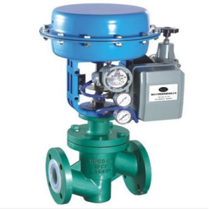 Chlor-alkali Pneumatic Single-seat Adjusting Valve