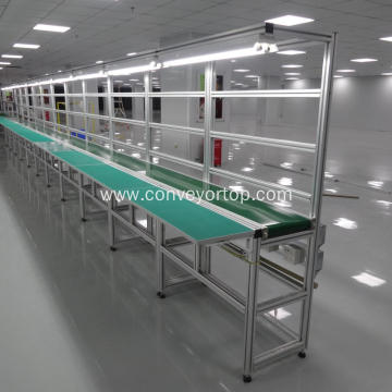 Automated Stainless Steel Pallet Conveyor Belt System