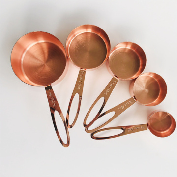 Set of 5 Metal Measuring Cups
