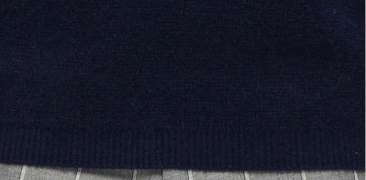 Men's crew neck wool cashmere sweater -9