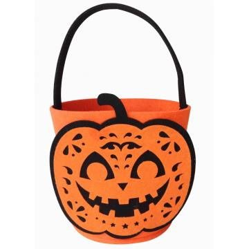 Halloween trick or treat bag and candy bucket