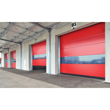 High performance automatic high speed stacking door