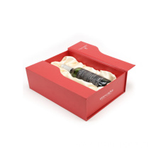 Innovative Popular Luxury Book Shape Wine Gift Box