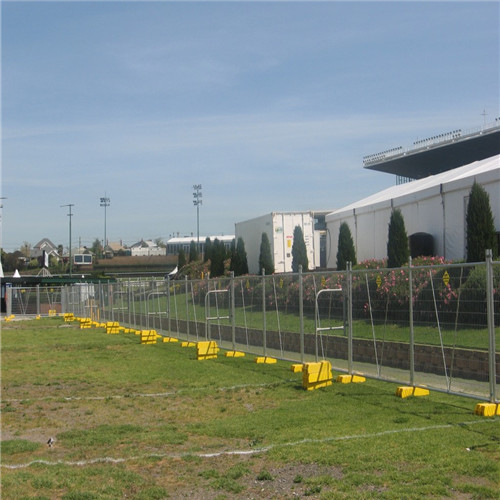 SGS/CE/ISO9001 galvanized temporary fence
