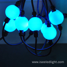 DMX RGB 3D led hanging ball string