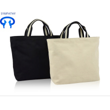 Purchasing for Blank Cotton Tote Bag Pure color leisure bag shopping bag supply to Spain Factory