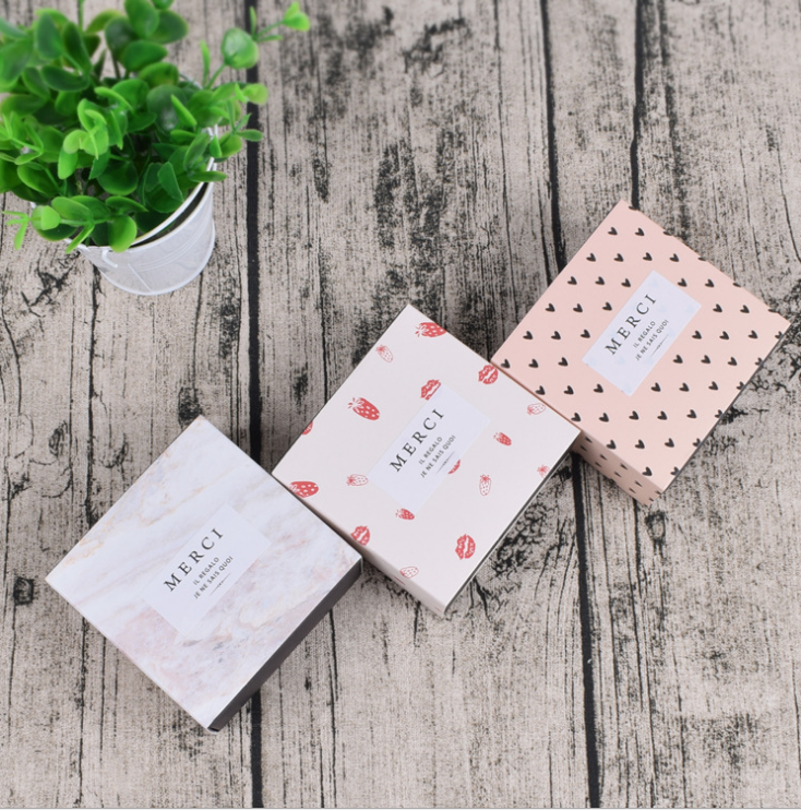 Luxury handmade soap boxes