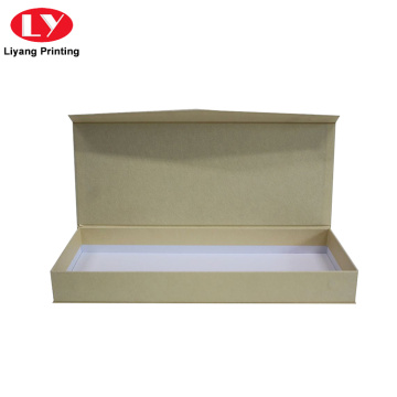 Brown Kraft Paper Gift Packaging Box with Lid