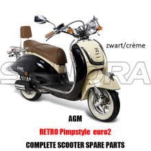 AGM RETRO PIMPSTYLE COMPLETE SCOOTER SPARE PARTS ORIGINAL SPARE PARTS
