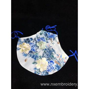 Hand Embroidered Lady's Stomacher