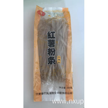 Discountable price for Wide Vermicelli Packing Bag Lu ning Plain little wide vermicelli 250g supply to Western Sahara Manufacturers