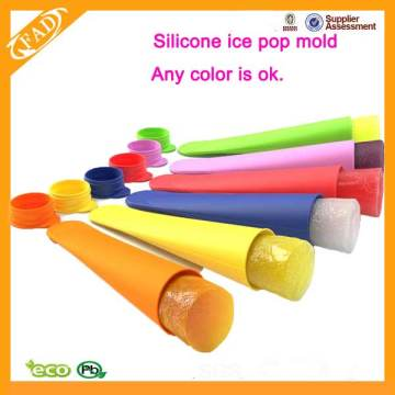 Hygienic Durable Silicone Ice Lolly Maker With Mold