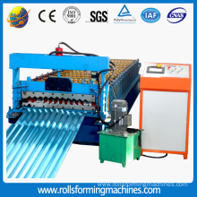 Trapezoidal wave rolling machine