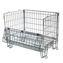 High Strength Industrial Metal Pallet Cages