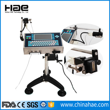 High resolution inkjet barcode printer