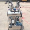 milking trolley machine for cow