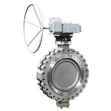 China for Metal Seat Butterfly Valve Lug Wafer Double Offset Butterfly Valve export to Gambia Suppliers