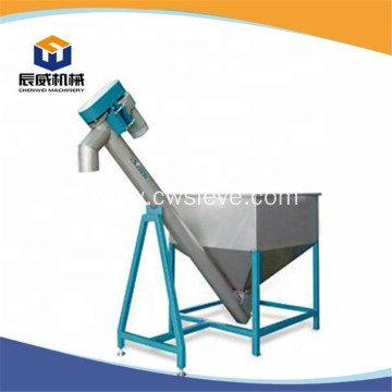 Auger screw conveyor with cooling function