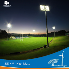 DELIGHT High Mast Light Pole Installation