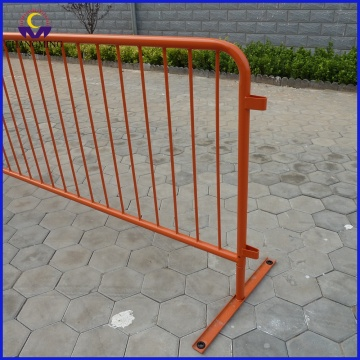 Removable Spray Paint Metal Crowd Control Barrier