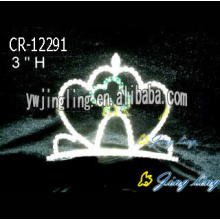 Customized for Easter Butterfly Shaped Crowns 2018 Crystal Cheap Tiara Crown supply to El Salvador Factory