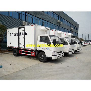 2T JMC Medical Waste Refrigerated Trucks