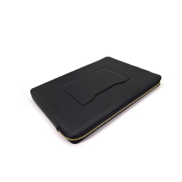 Custom Computer Case Bag PU Leather Laptop Sleeve