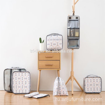 8 комплектов упаковки Cubes Travel Organizer Mesh Bags Value Set