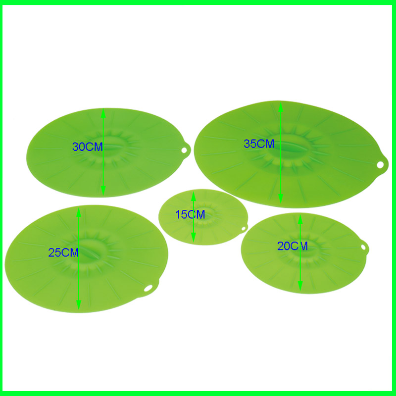 Flexibiel Sealing Wholesale Silicone Lid Set