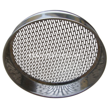 Galvanized/SS Perforated Metal Standard Testing Sieve