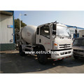 Foton 5 CBM Self Loading Concrete Mixer Vehicles