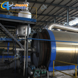 Waste Tire Recycling to Oil Machinery