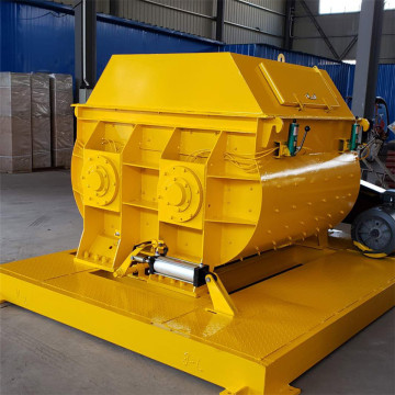Universal commercial heavy twin shaft concrete mixer