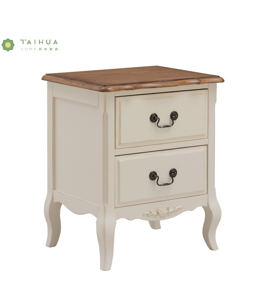 Ivory White Night Stand
