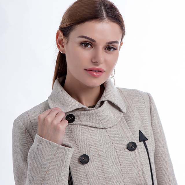 Solid Cashmere Coat Solid Color