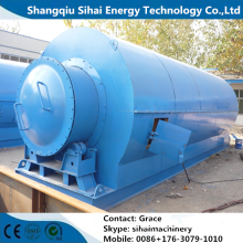 Waste Tire Pyrolysis Plant For Fuel Oil