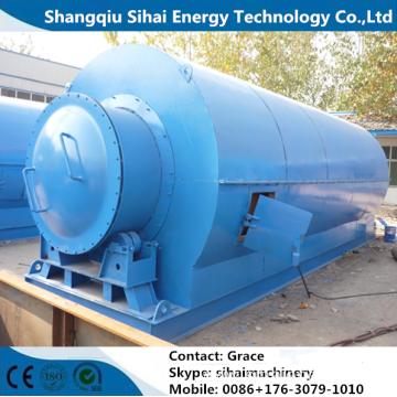 Waste Tire Recycling Plant With ISO