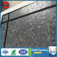 Rock wall textured sand paint exterior