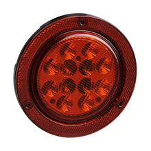 Factory Cheap price for Led Truck Rear Lights,Truck Rear Lights,Rear Lights Manufacturer in China 4 Inch Round LED Bus Stop Tail Lamps supply to Nigeria Supplier
