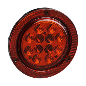 "4"" DOT Round Truck Stop Tail Lighting"
