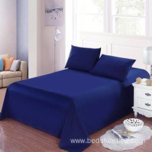 Quality for Sateen Stripe Sheets CVC 50/50 Percale Solid Dyed Bed Sheets supply to France Manufacturer