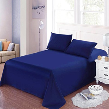 Well-designed for Cvc Sheets For Hotel CVC 50/50 Percale Solid Dyed Bed Sheets supply to Indonesia Manufacturer
