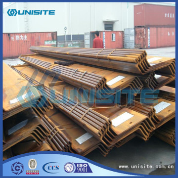 Steel sheet pile wall
