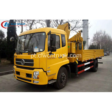 2019 Dongfeng 5Tons articulado Top Lift guindaste caminhões