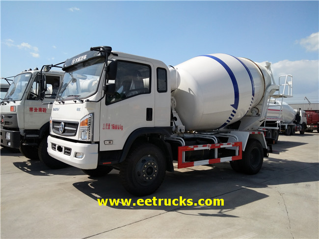 Dongfeng Concrete Mixers