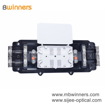 96 Cores Horizontal Fiber Optic Splitter Box 2 In 2 Out Mechanical Sealing Fiber Enclosure Box