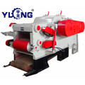 Agricultural wood chipper machinery