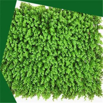 Artificial eucalyptus plant wall